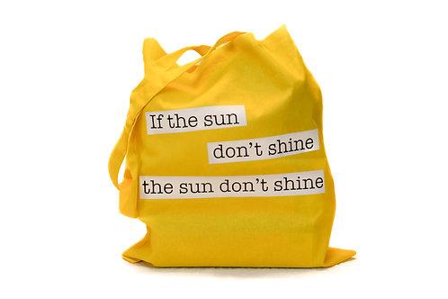 Handlenett, Gult - Sun dont shine
