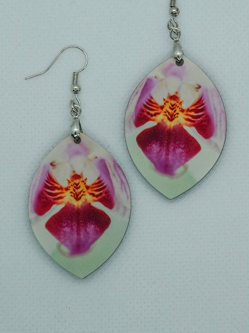 Øredobber - Orkidé