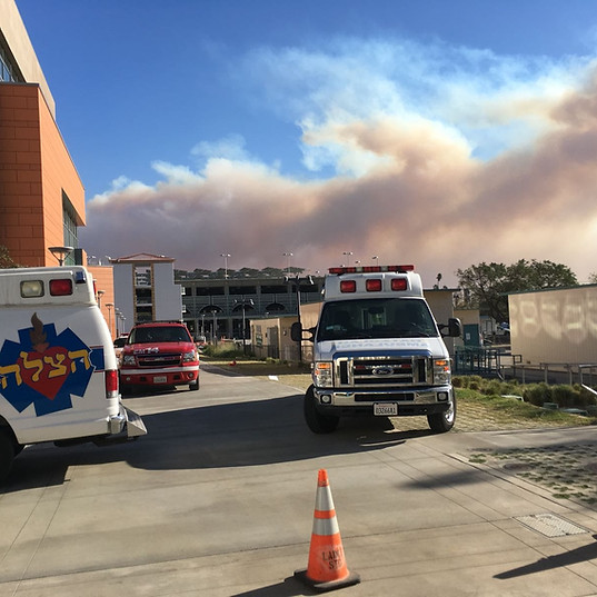 Sylmar Fire - Evac