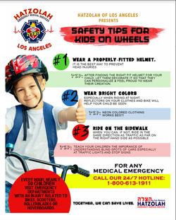 Community Bike Safety Flyer