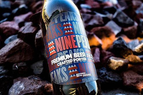 Cerveza Nine Peaks Porter