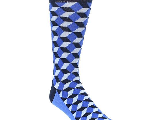 Blue Beeline Optical Socks