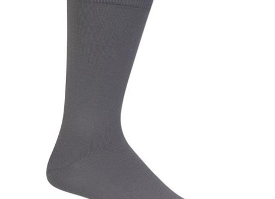 Super Soft Grey Dress Socks
