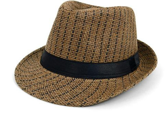 Brown Dashed Fedora