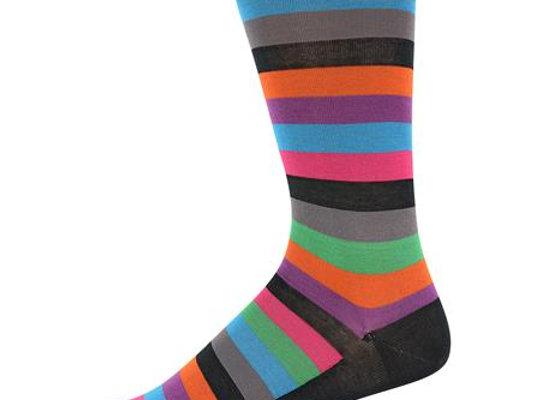 Multicolored Striped Socks
