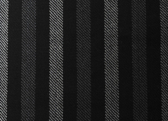 100% Wool Striped Scarf