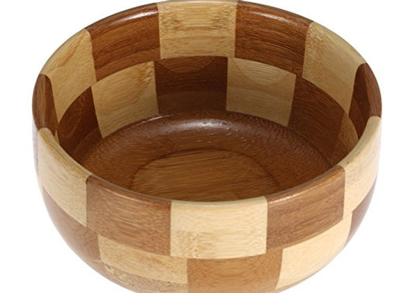 Bamboo Shave Soap Bowl