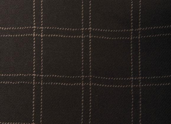 100% Wool Windowpane Scarf