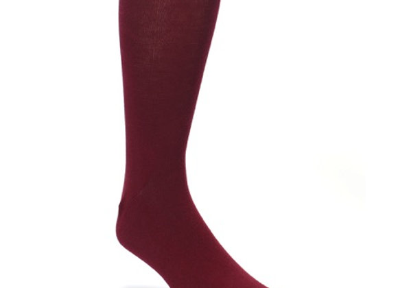 Burgundy Super Soft Socks