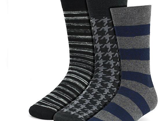 Assorted Dress Socks 3 Pack