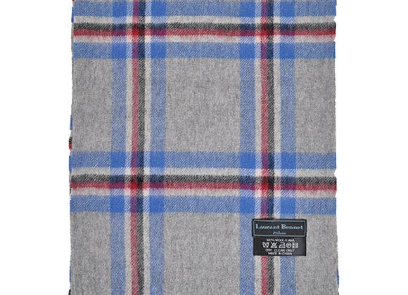 100% Wool Plaid Scarf