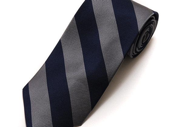 College Striped Silk Tie