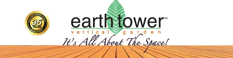 Earth Tower Vertical Garden: It's All About The Space!
