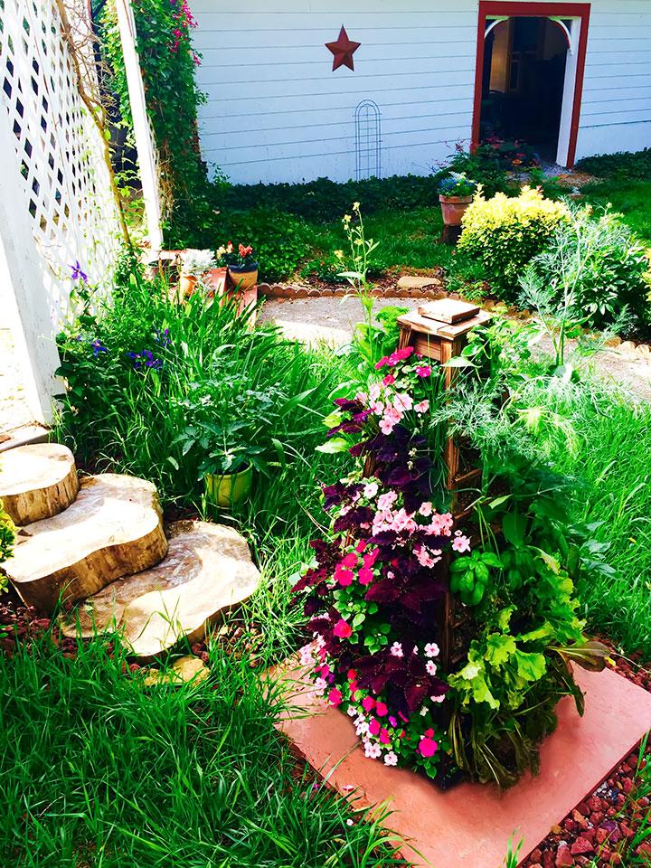 Adding Garden Flair to Farmhouse