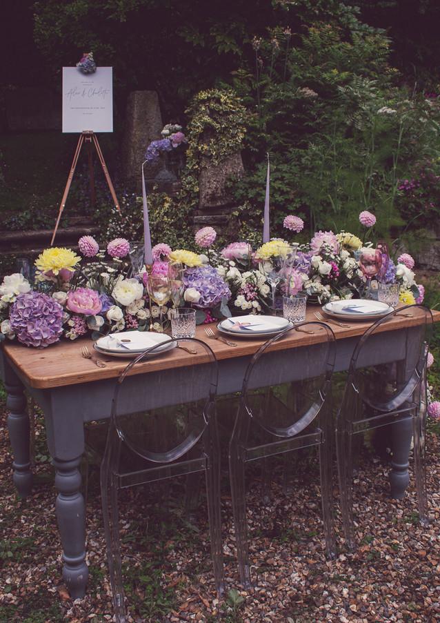 Inside The Garden - A Wedding Editorial