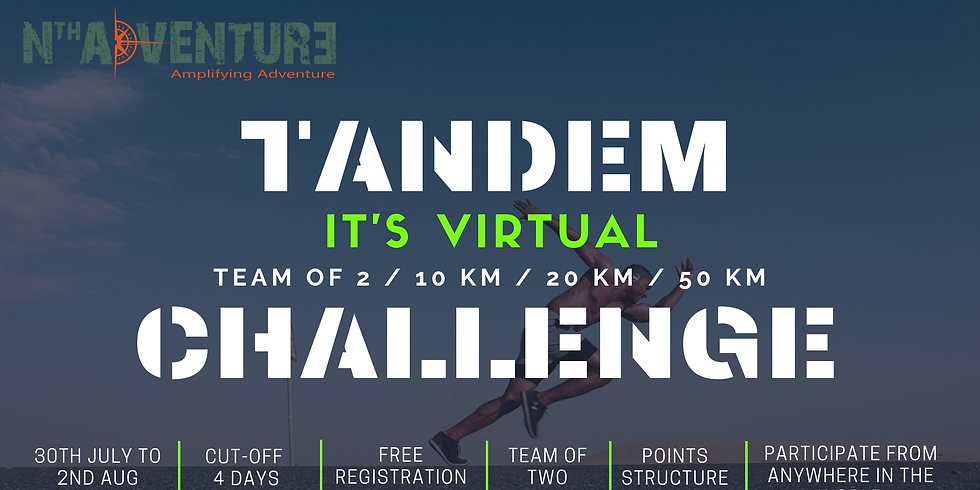 Virtual - Tandem Challenge (Team of Two)