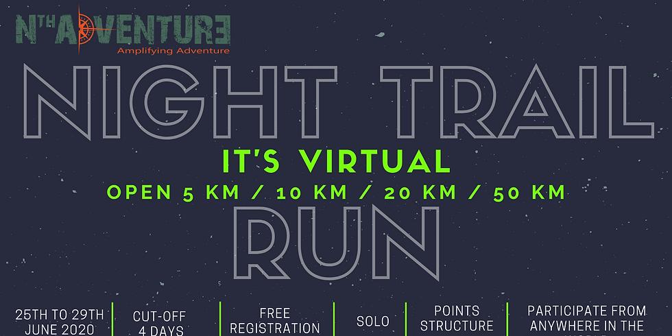 Virtual - Night Trail Run