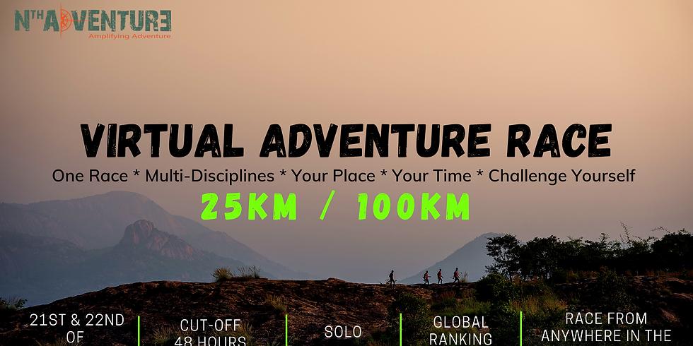 GLOBAL Virtual Adventure Race 2.0 (25K / 100K)