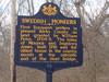State Historical Marker on Rte 724