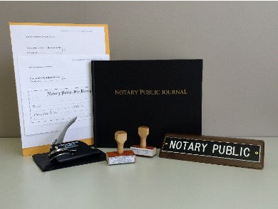Notary service in Union Township, Berks County