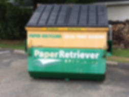 Union Township, Berks County paper recycling bins