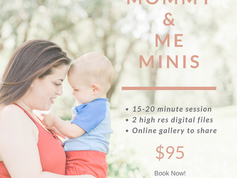Mother's Day minis are here!