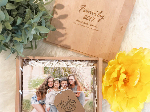 Photo boxes are here!