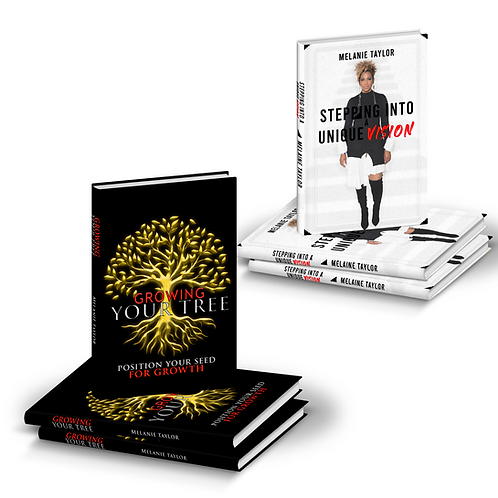 Book Bundle (Growing Your Tree + Stepping into a Unique Vision)