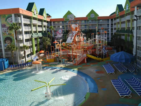 Holiday Inn Resort Orlando Suites ( we visited when it was Nick Hotel)