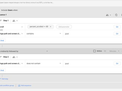 Як налаштувати конверсії в Google Analytics 4. Покрокова інструкція