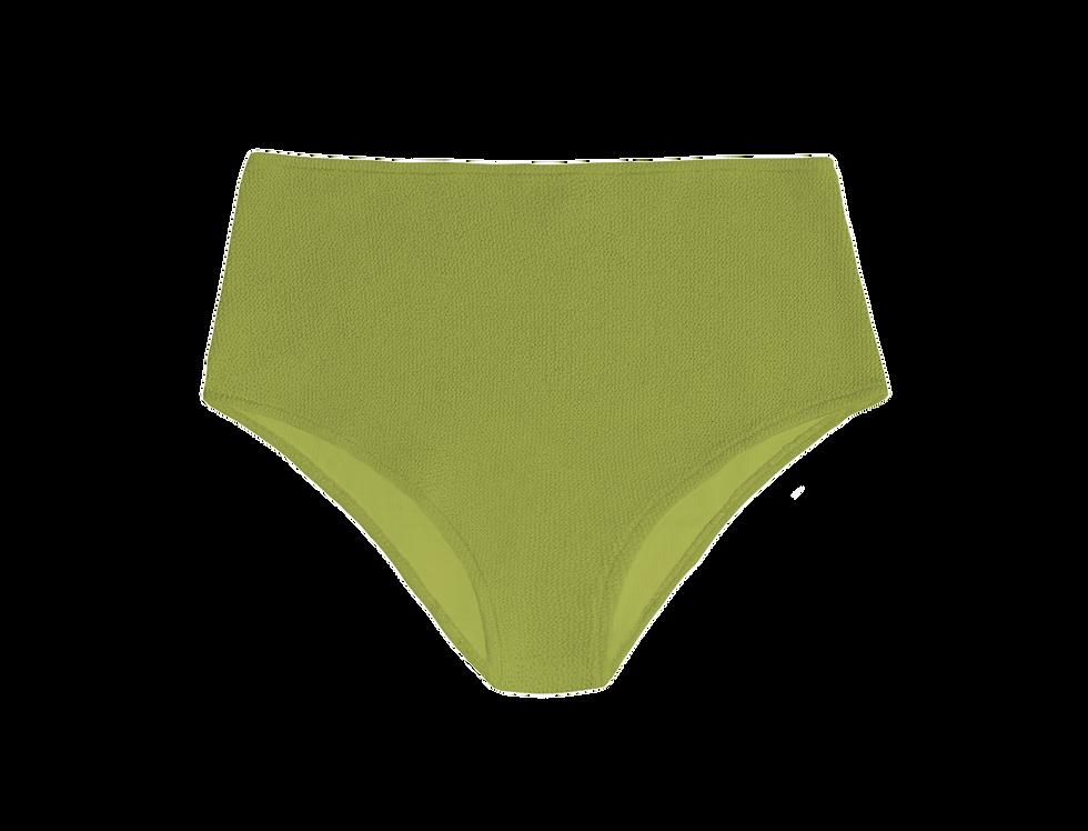 JANE textured high waist bottom in olive