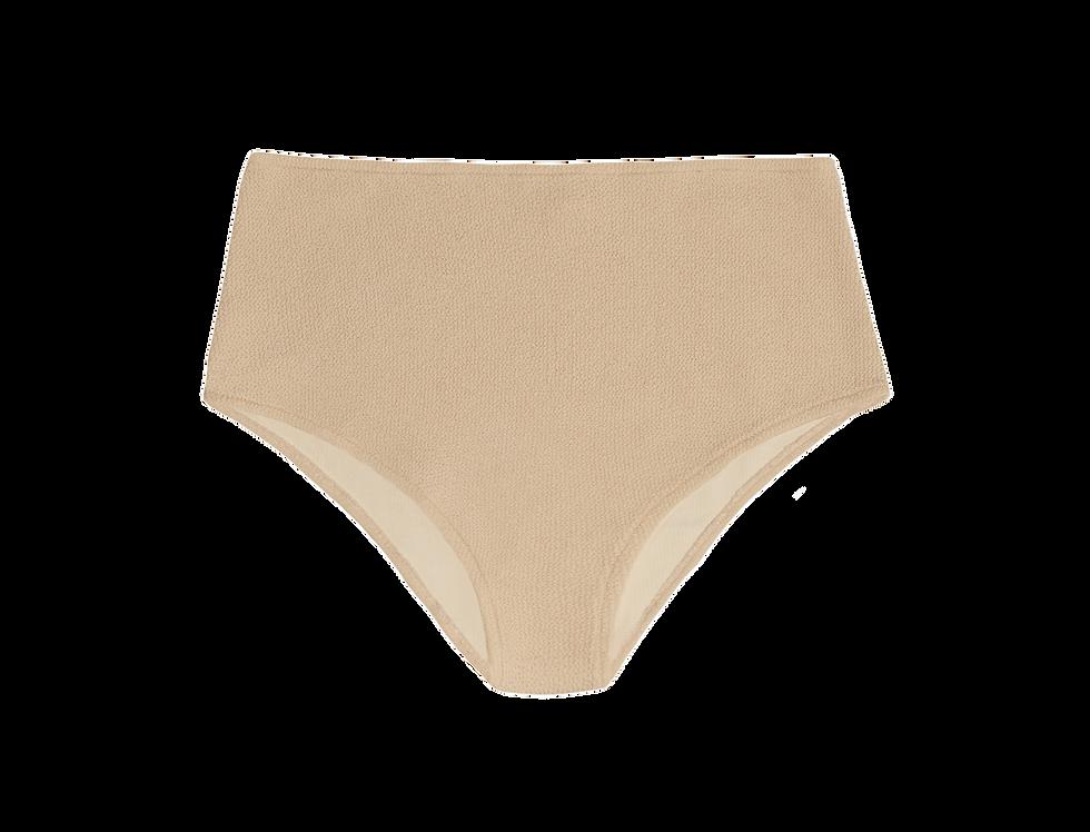 JANE textured high waist bottom in sand