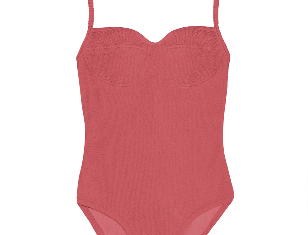 Colette textured in dusty pink