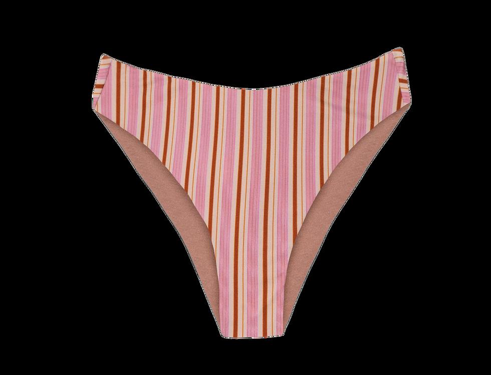 Greta reversible bottom in stripes
