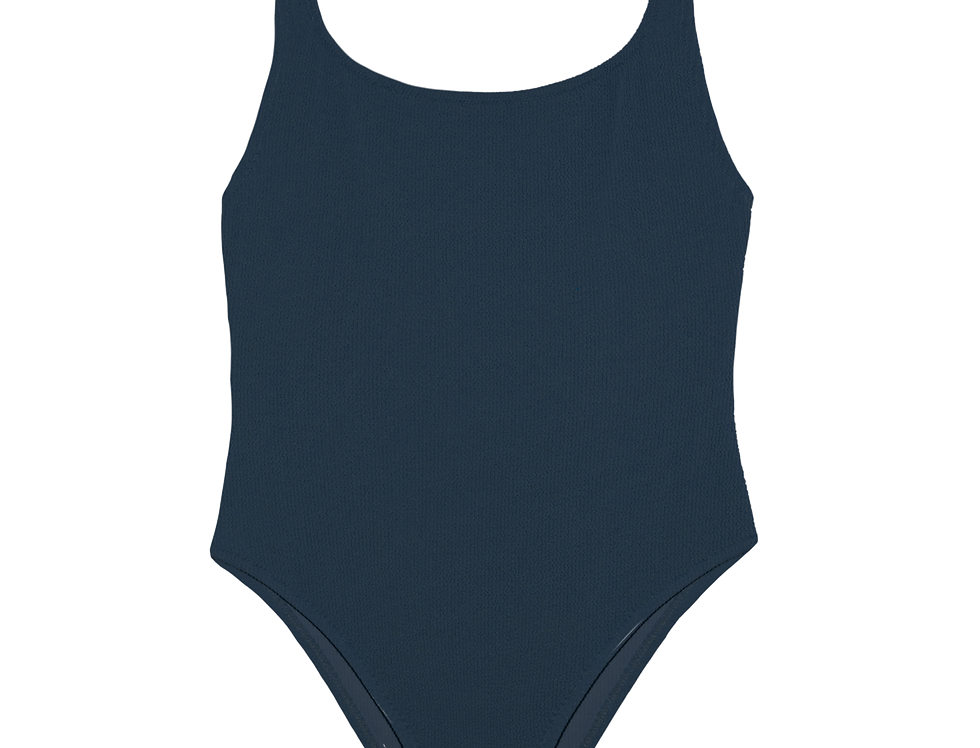 EUGÉNIE textured swimsuit in ombre