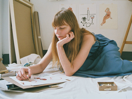 Clō muses : An interview with Barcelona-based illustrator Sophia Pega...