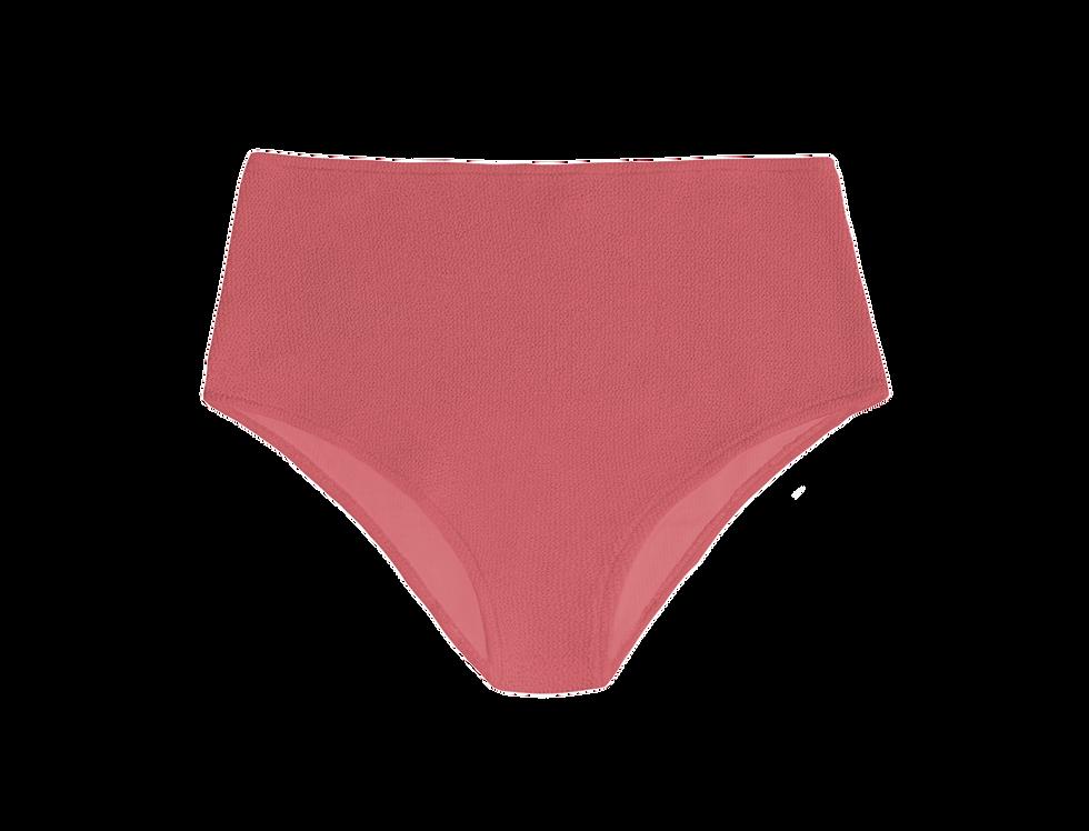 JANE textured high waist bottom inmdusty pink