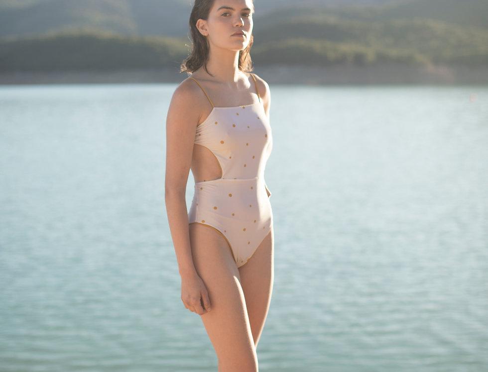 Camile reversible dots swimsuit
