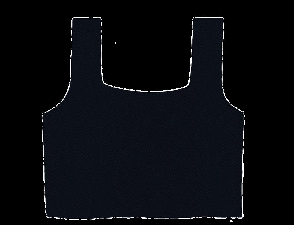Ada organic linen top in blue