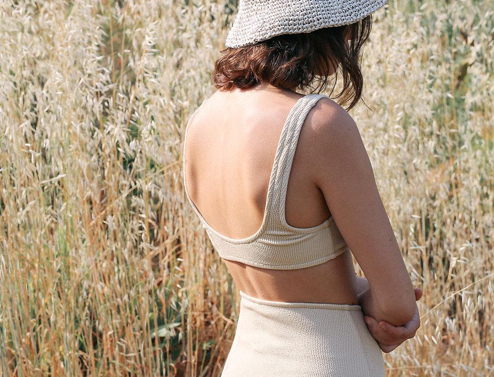 JANE textured high waist bottom