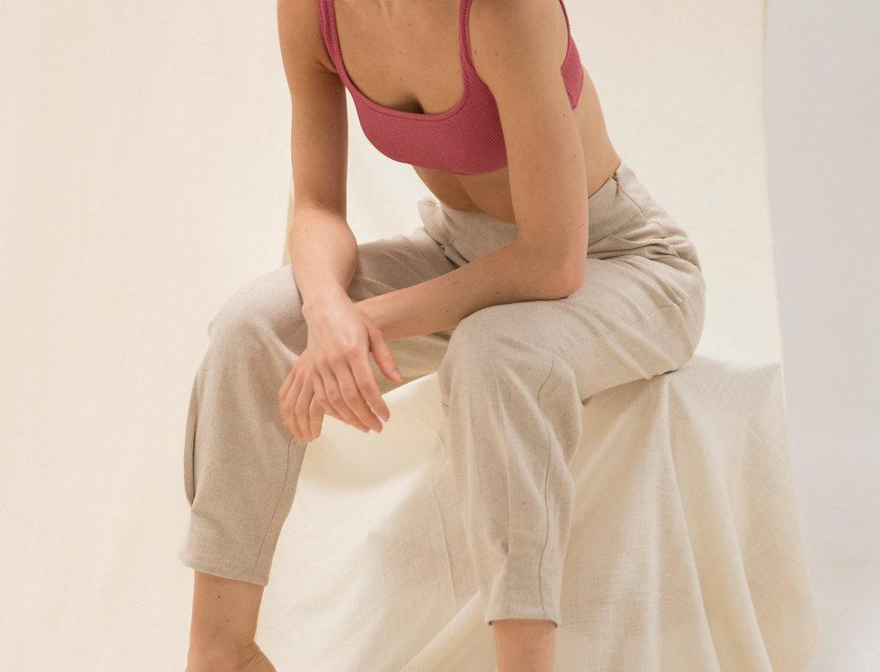 Mina Bio linen pants