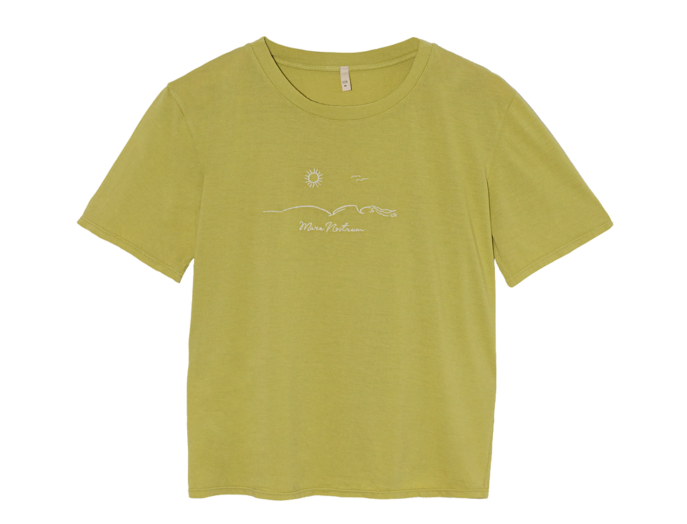 Lise organic cotton TEE in lime