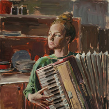Girl with Accordeon | 2019