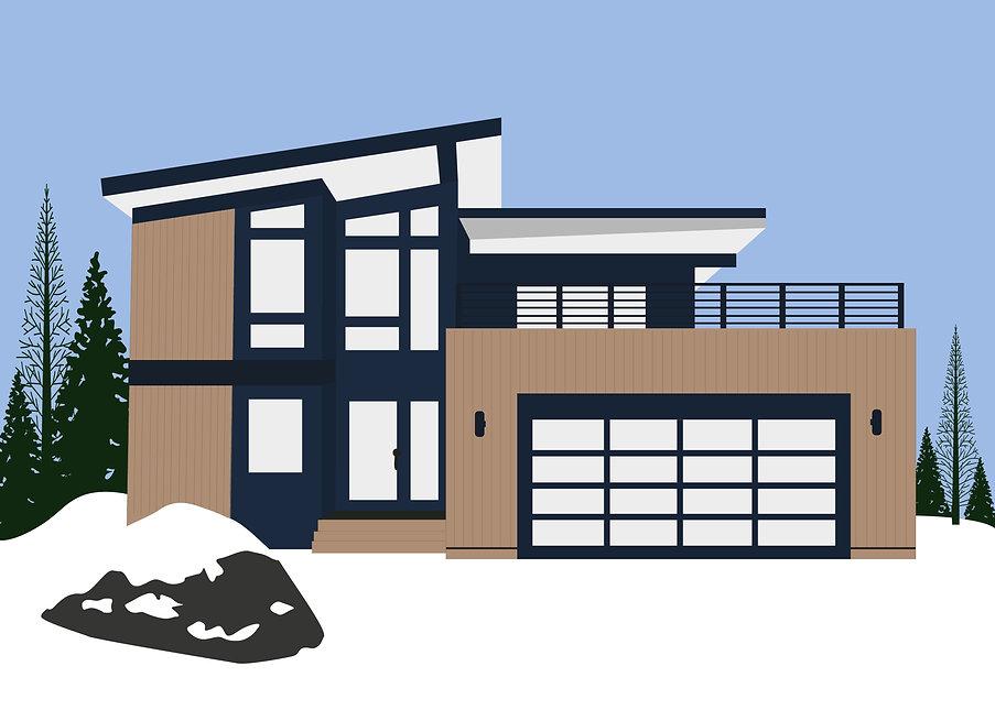 Palisades Tahoe | Elizabeth Houston Home Art