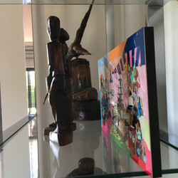WB Side View Sculpture