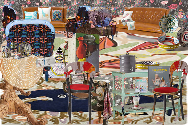 Anthropologie Collage