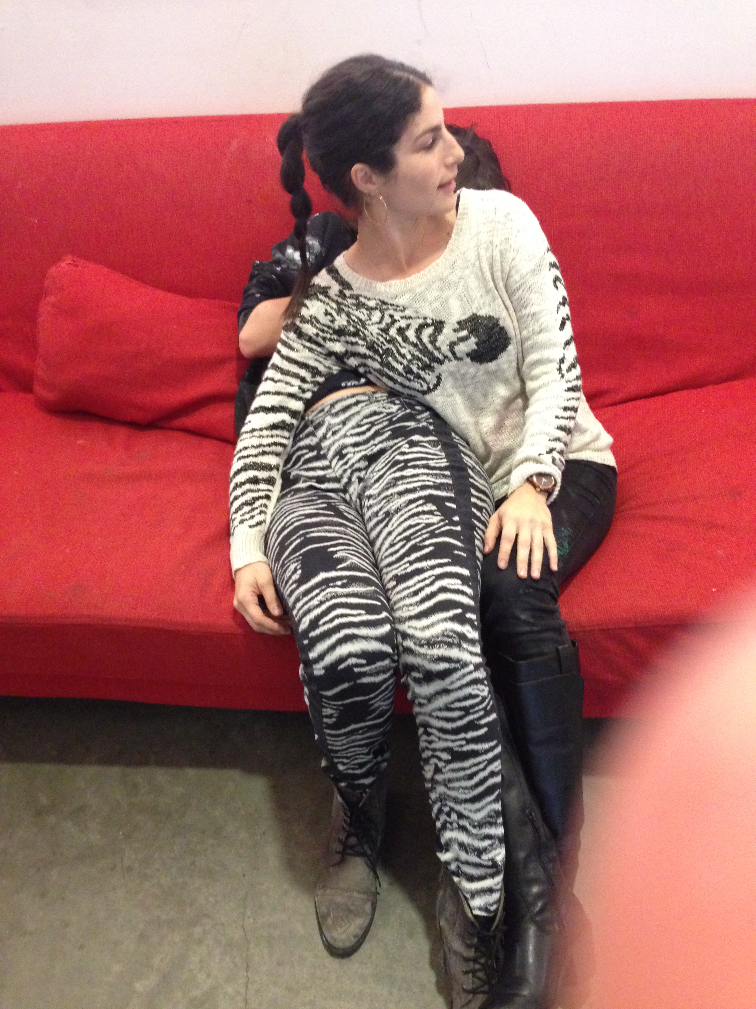 Me & Coady Brown as Zebra Pair