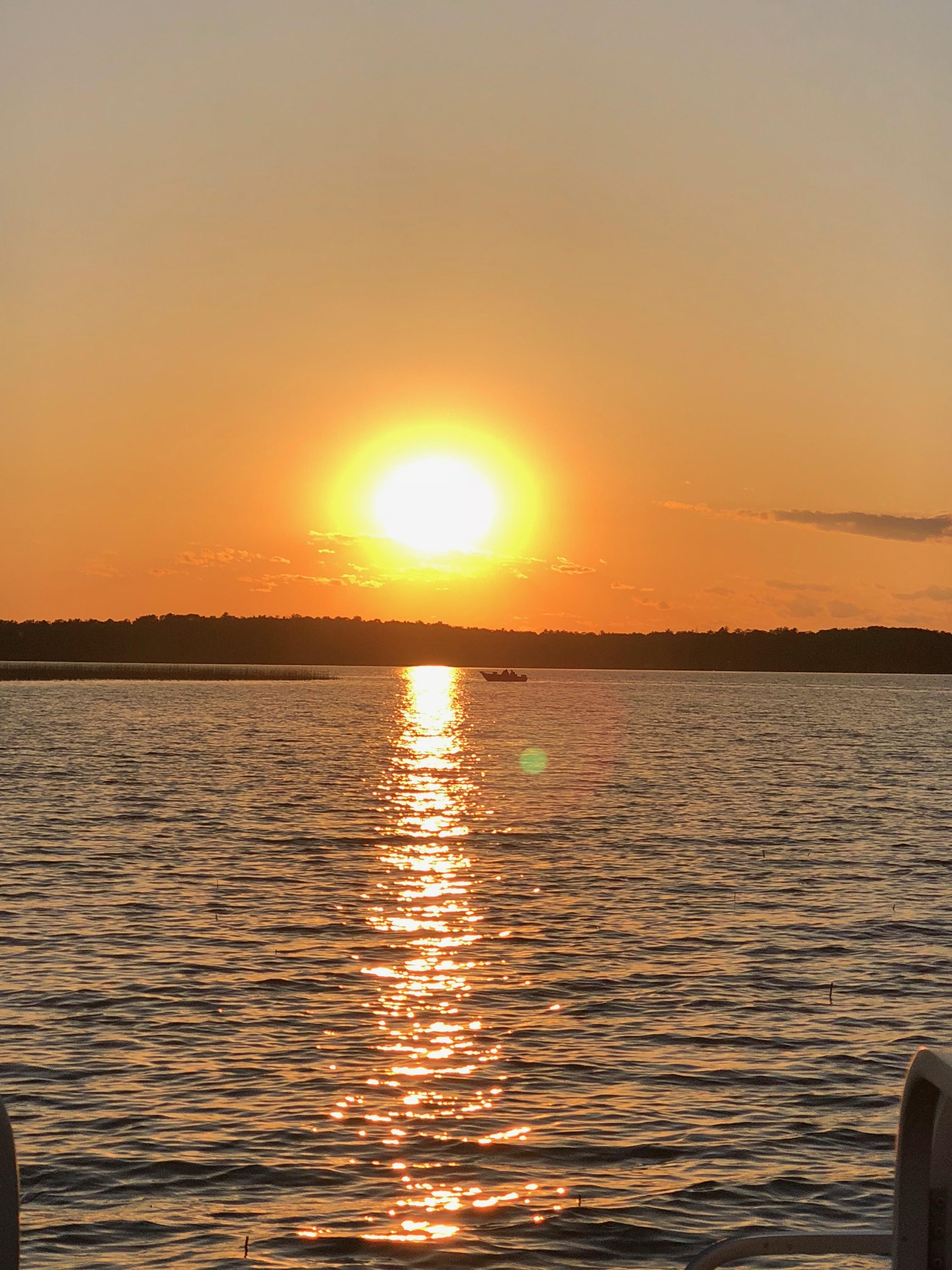 Lake Kitchi Sunset