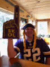 Vikings games at the lodge