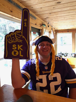 Vikings games at the lodge